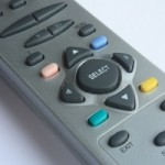 Image of remote control for TV