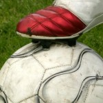 Image of a football and boot