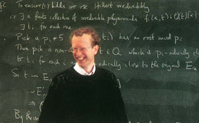 andrew wiles In 1994 andrew wiles proved fermat's last theorem, which at the time was the  most famous, and long-running, unsolved problem in the.